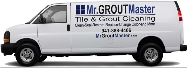 Port Charlotte, FL tile and grout cleaning van